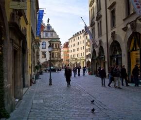 на улицах Мюнхена