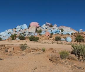 Цветные скалы. Фото: наш турист Григорий Чернов