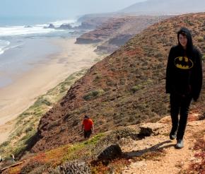 Трек вдоль побережья