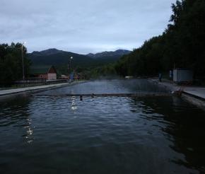 Термальный бассейн в поселке Эссо. Фото: Александр Панченко