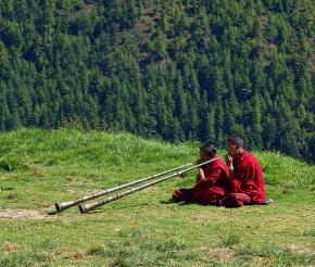 Юные монахи, Бутан