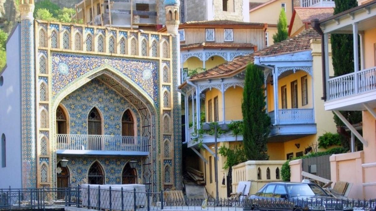 Балкончики Тбилиси. Фото нашего гида Ирины Пряничниковой