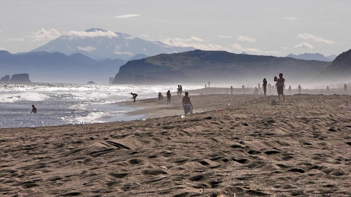 Хорошая погода на побережье Тихого океана. Правда, с погодой не всегда везёт
