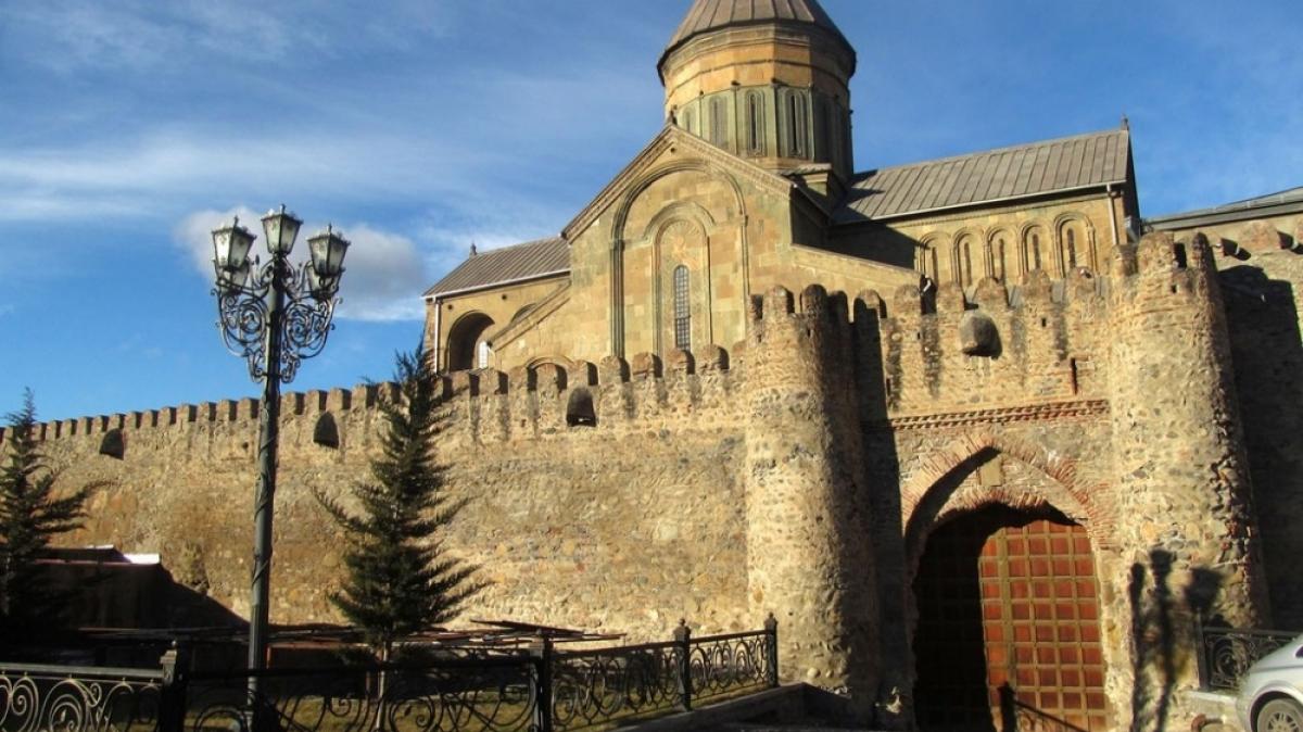 Собор Светисховели. Фото нашего гида Ирины Пряничниковой