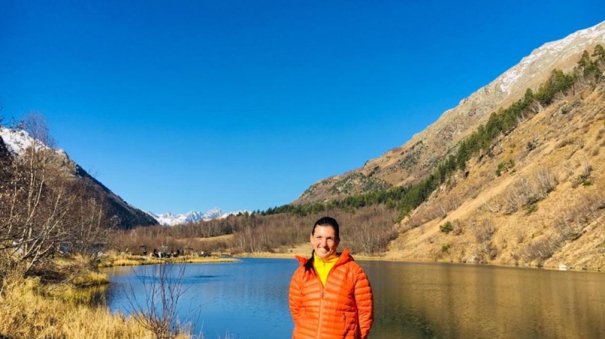 Озеро Туманлыкель. Фото нашего гида Галины Жигулиной