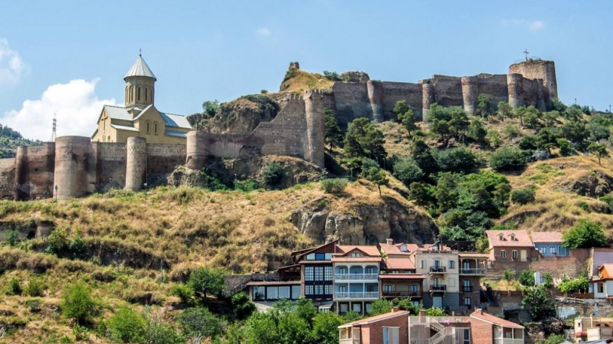 Крепость Нарикала. Фото нашего гида Ирины Пряничниковой
