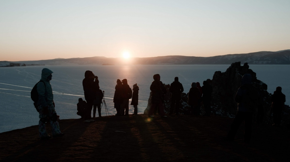 Встречаем закат! Фото нашего туриста Александра Кочкина