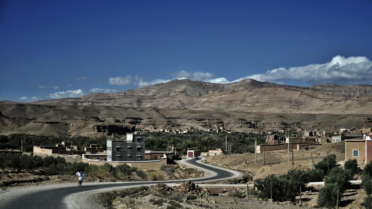 По пути в долину Argan