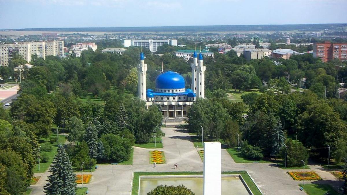 Мечеть в Майкопе. Фото нашего гида Галины Жигулиной