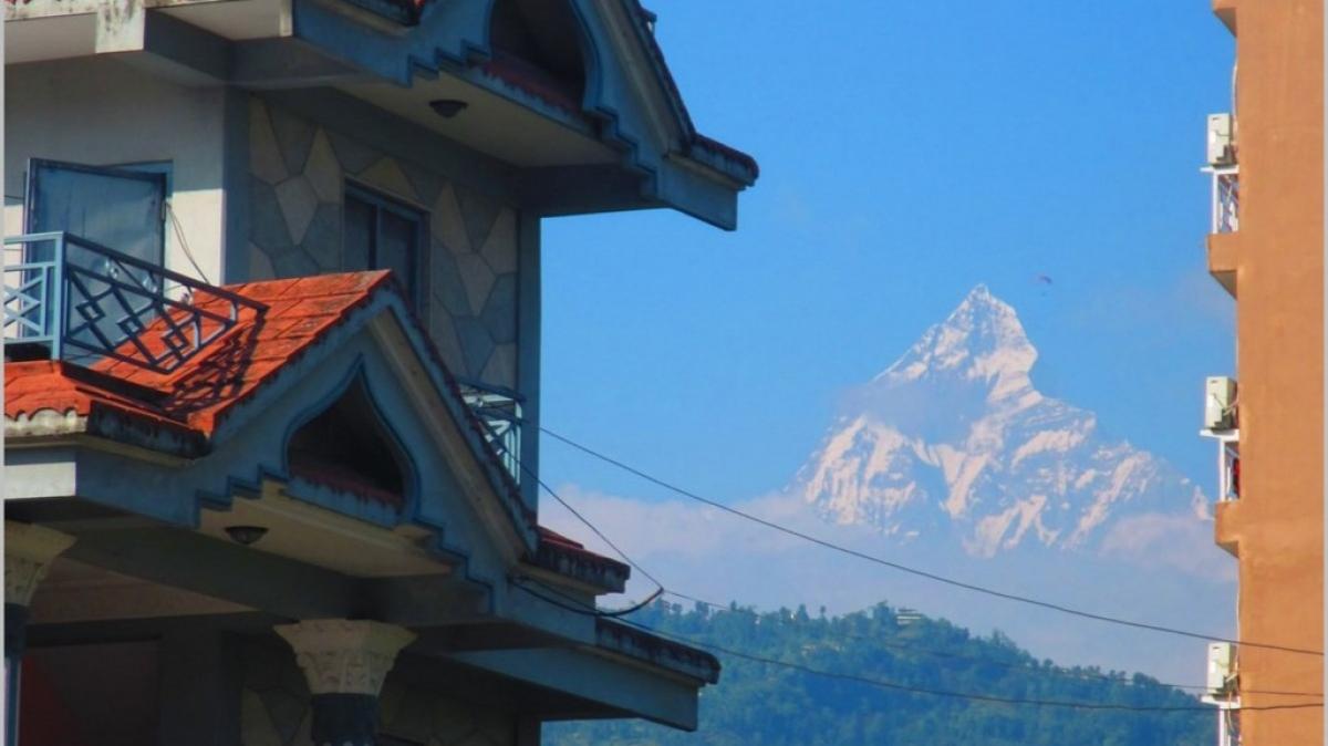 вид из Покхары