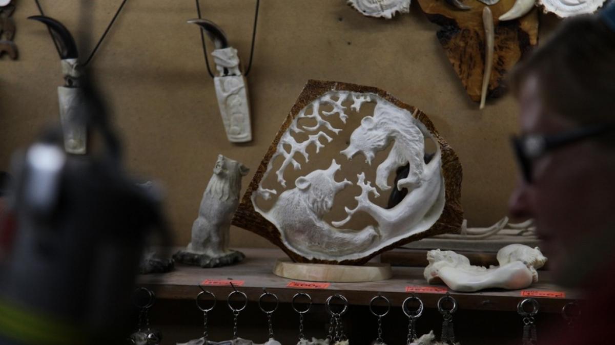 В Эссо можно будет купить аутентичные сувениры. Фото: Александр Панченко