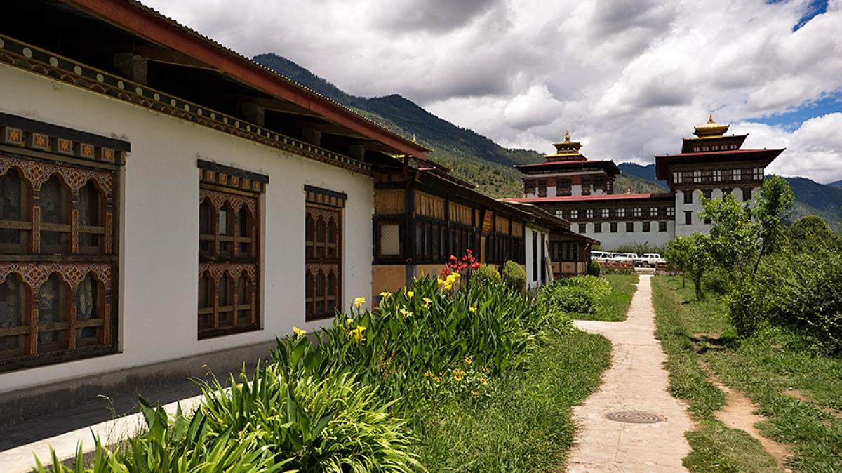 Бутан, Тхимпху, фото: Александр Шафир