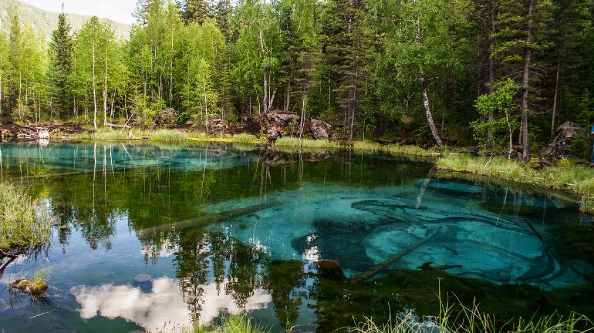Гейзерное озеро. Автор фото: Алёна Питеркина