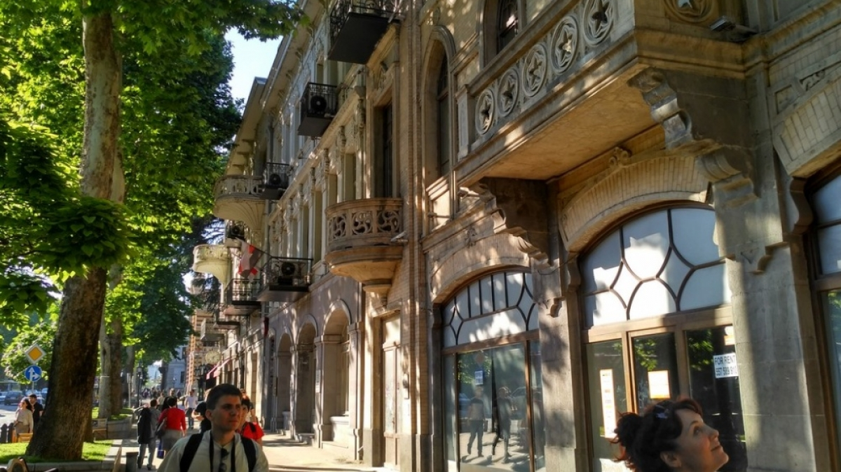 Тбилиси, проспект Руставелли, фото: Александр Друзь