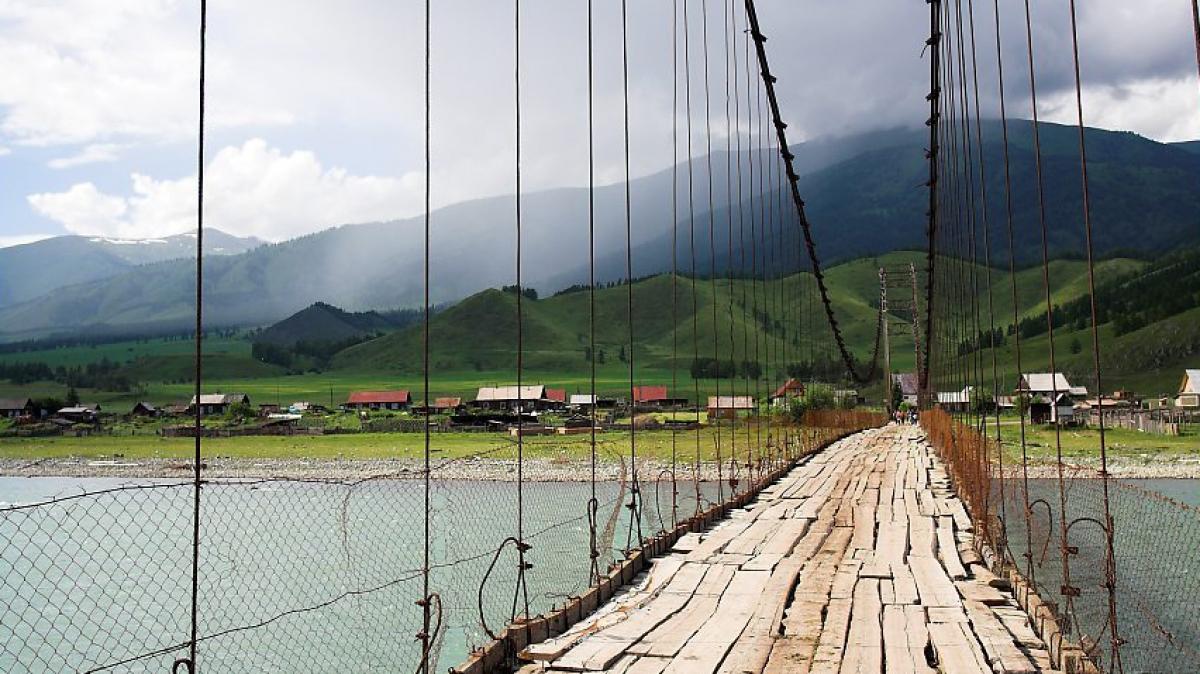 Переезд в село Тюнгур