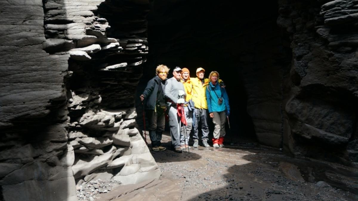 А вот мы в каньоне в 2015 году! Фото: Александр Панченко