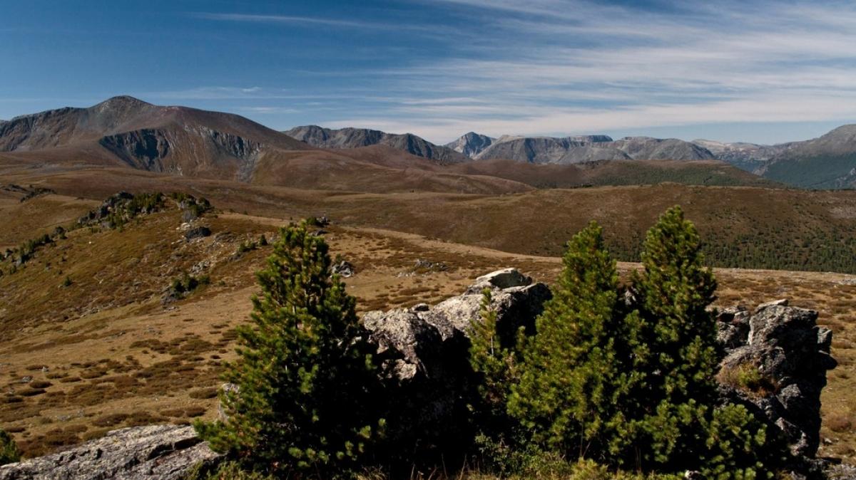 Вид с перевала Черная речка