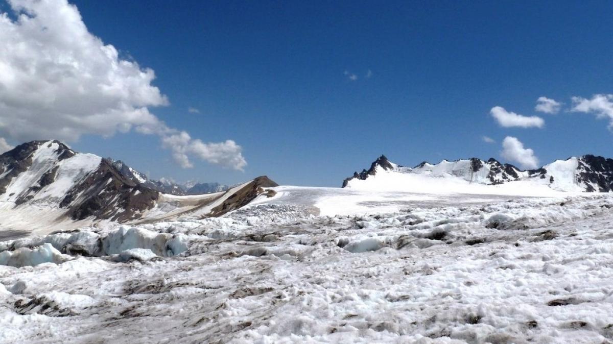 Склоны горы