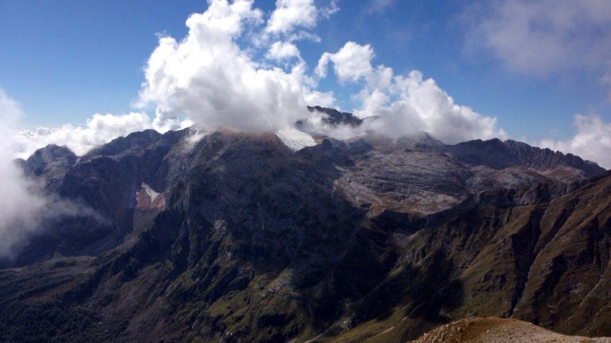Вид на Фишт с горы Оштен