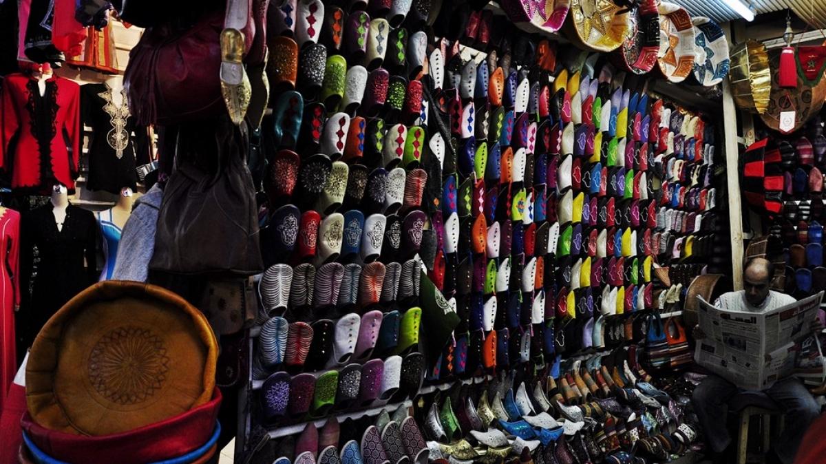 Большой базар в Марракеше