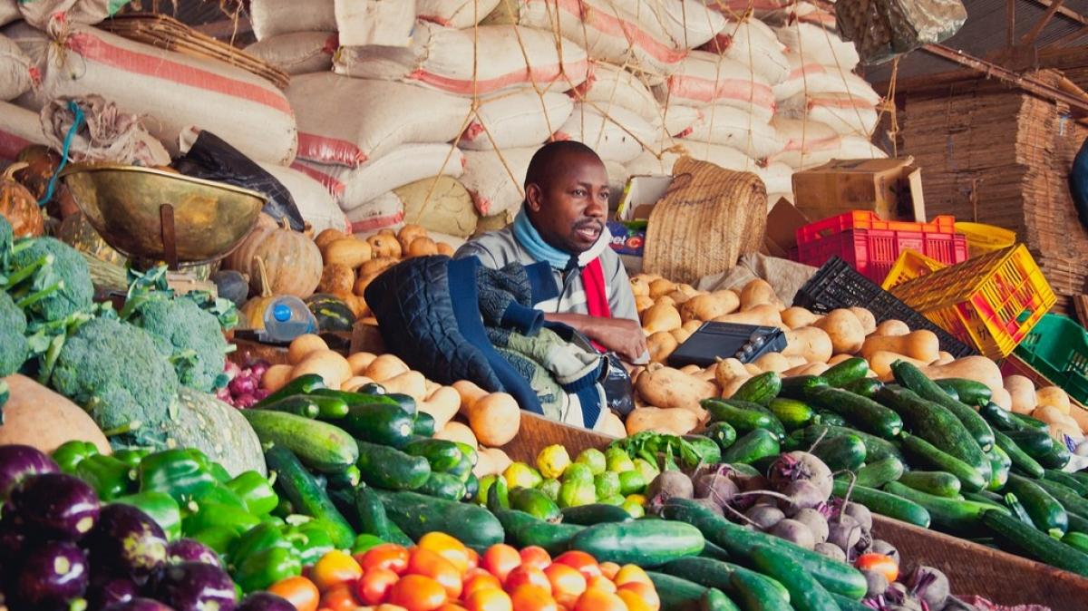 Рынок в Аруше