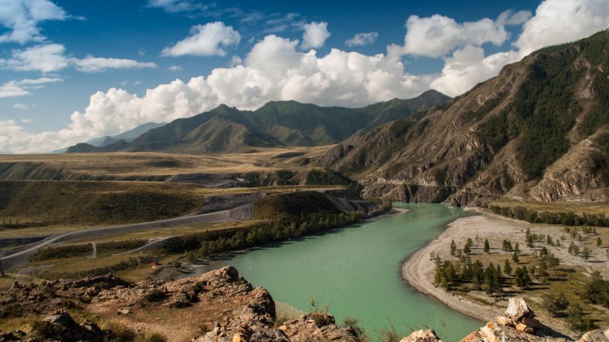 Слияние рек, фото нашего гида Питеркиной Алёны