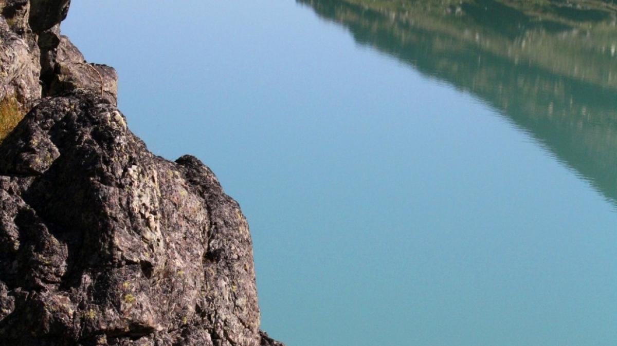 Озеро Акчан.