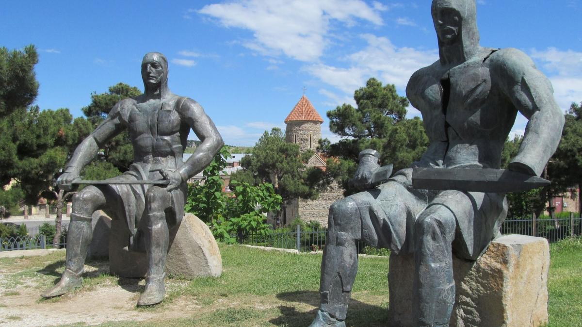 Памятник в Гори. Фото: Ирина Пряничникова