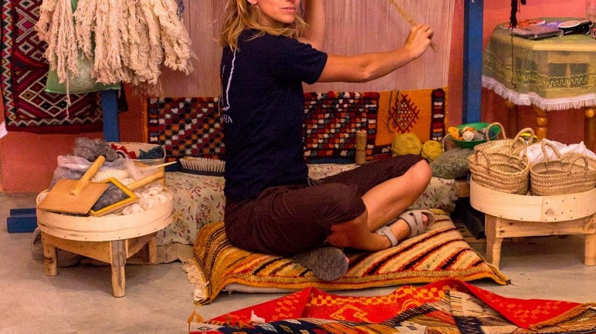 Учимся делать ковры
