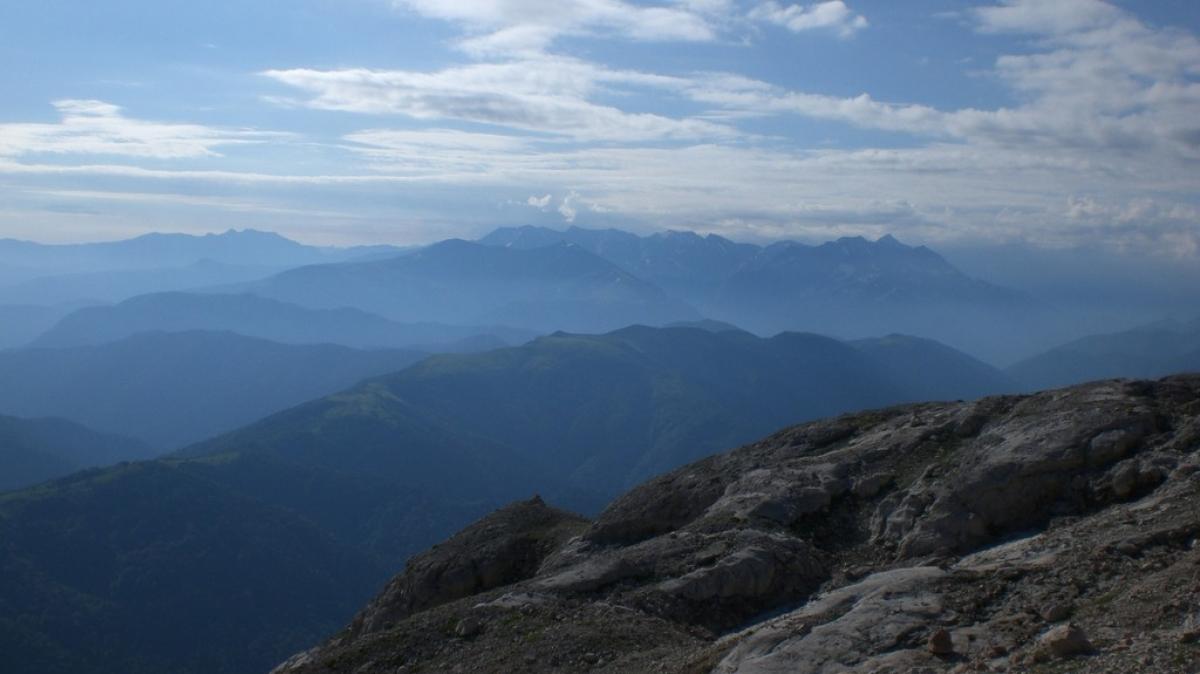 Вид с горы Фишт