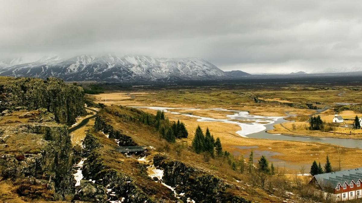 Национальный Парк Тингветлир осенью