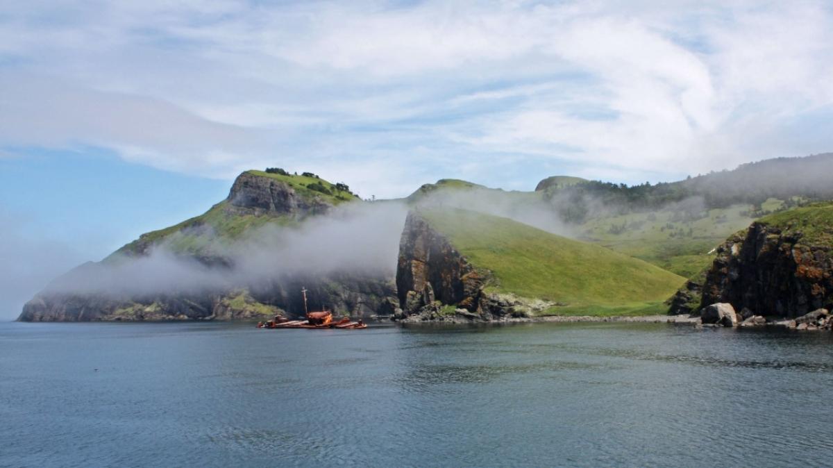Остров Шикотан. Фото: Омега-Плюс