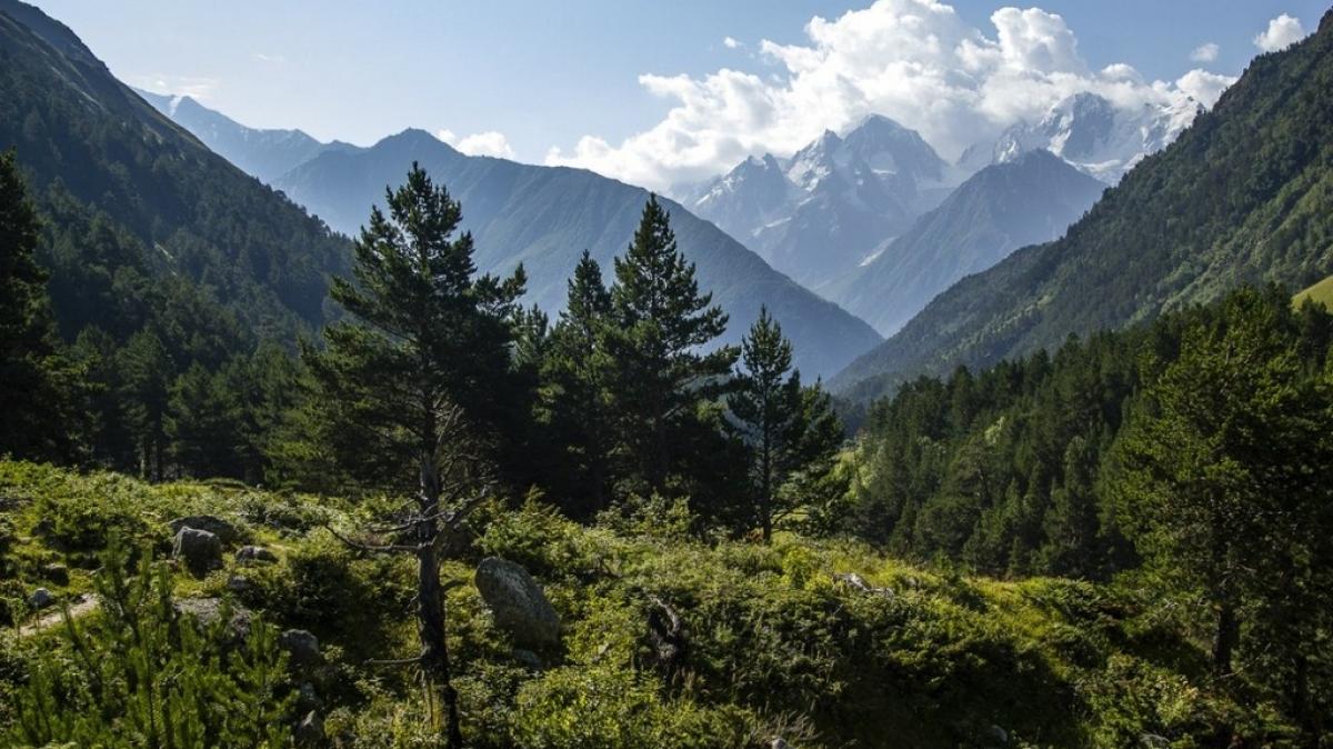 Красота Кавказских гор