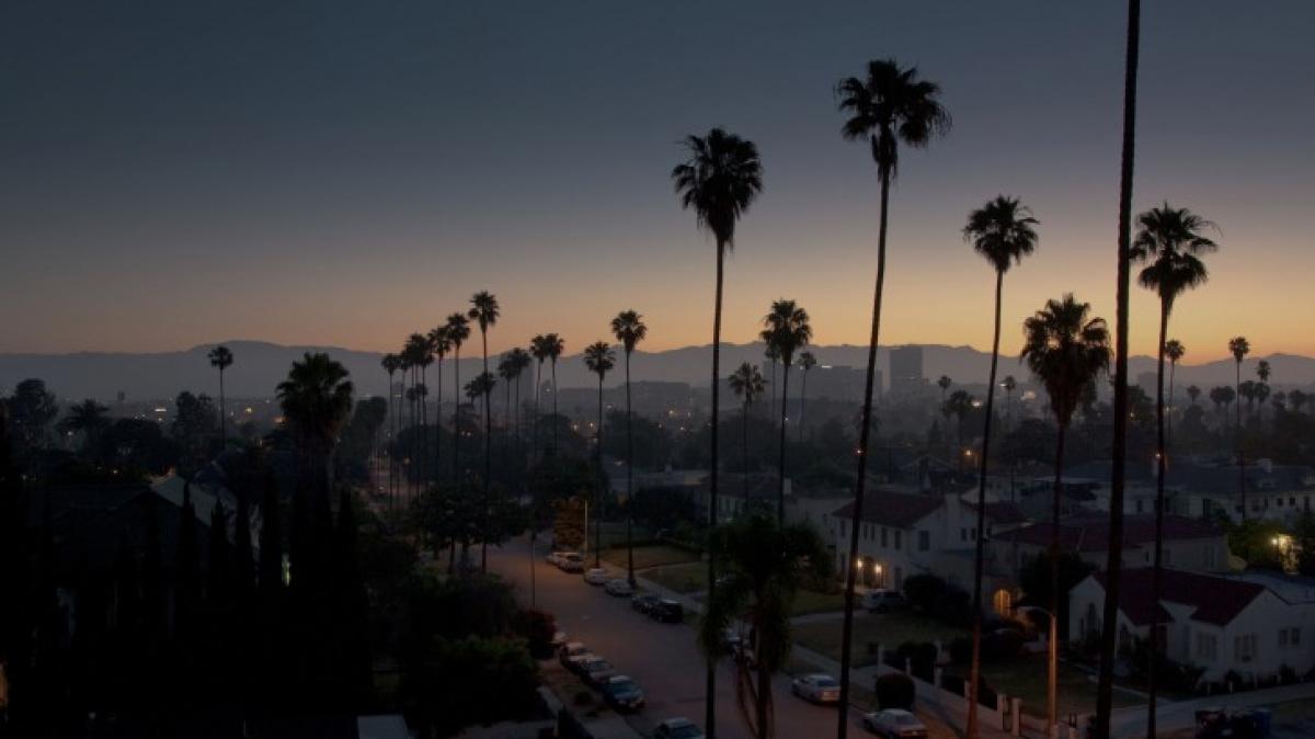 Вечерний Лос-Анджелес