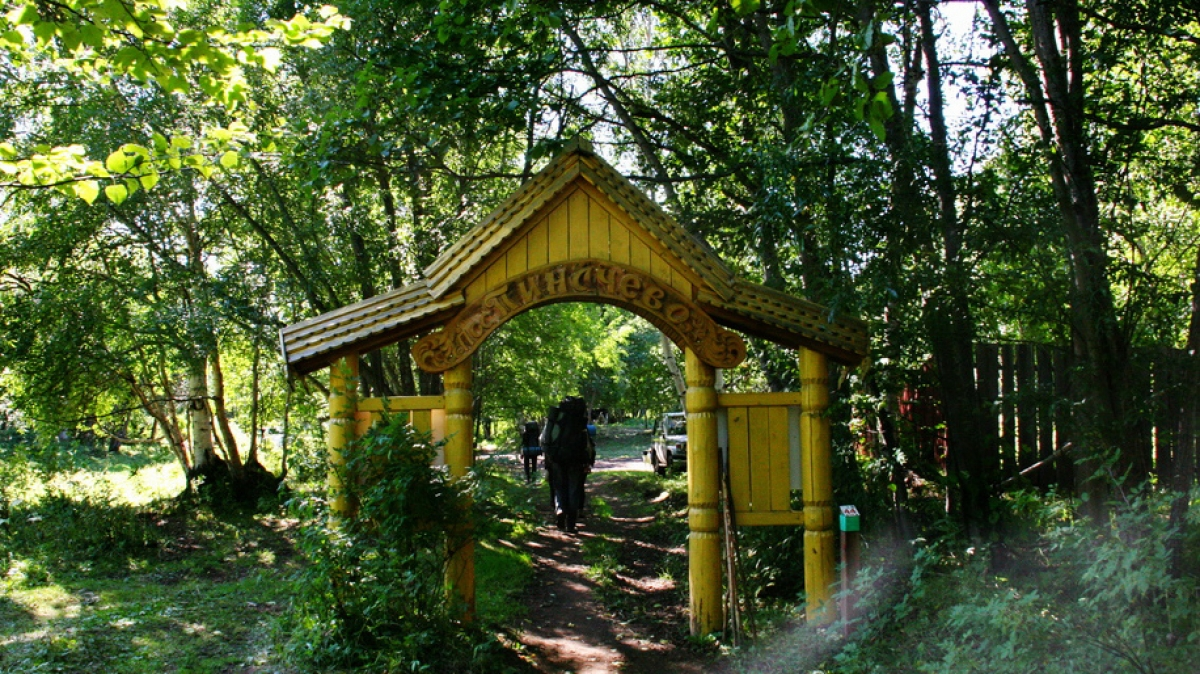 Поселок Пенячево, фото: Виктор Поляков