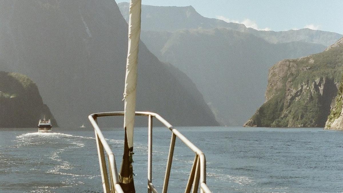 На корабле по фьордам!
