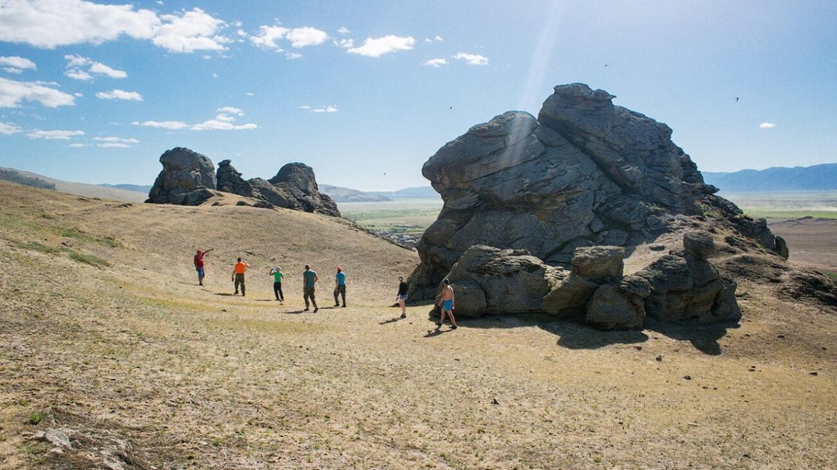 Баргузинская долина, фото нашего туриста Дениса Куренкова