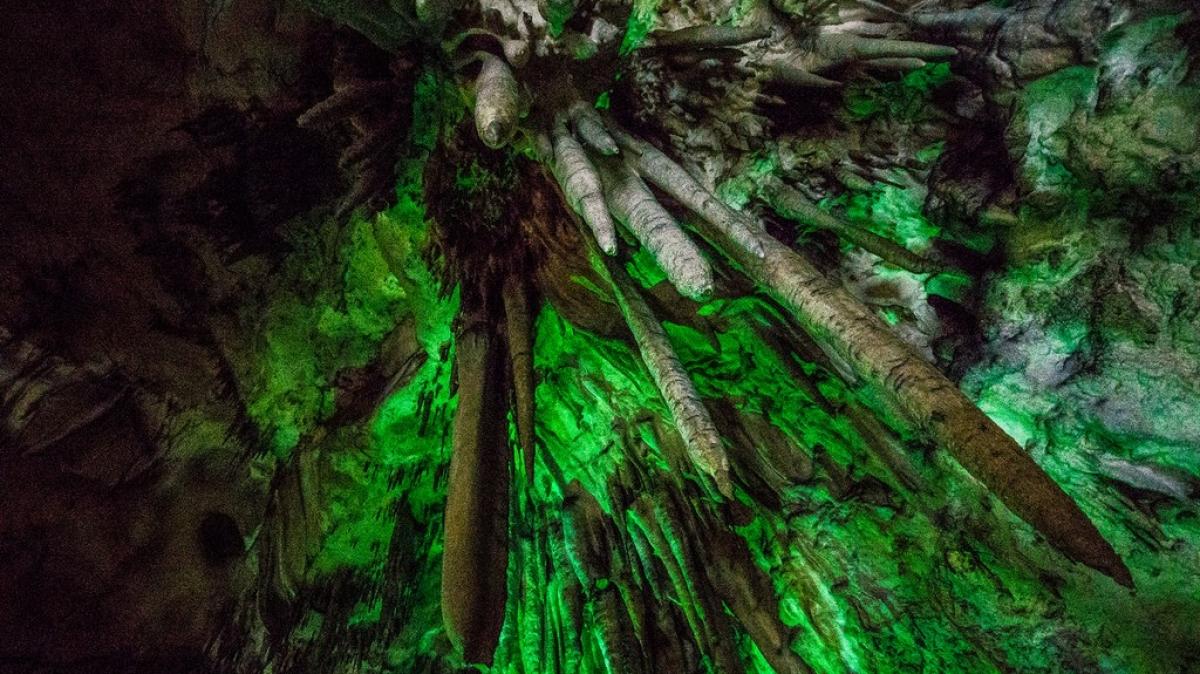 Азишская пещера. Фото нашего туриста Дмитрия Кочерыгина