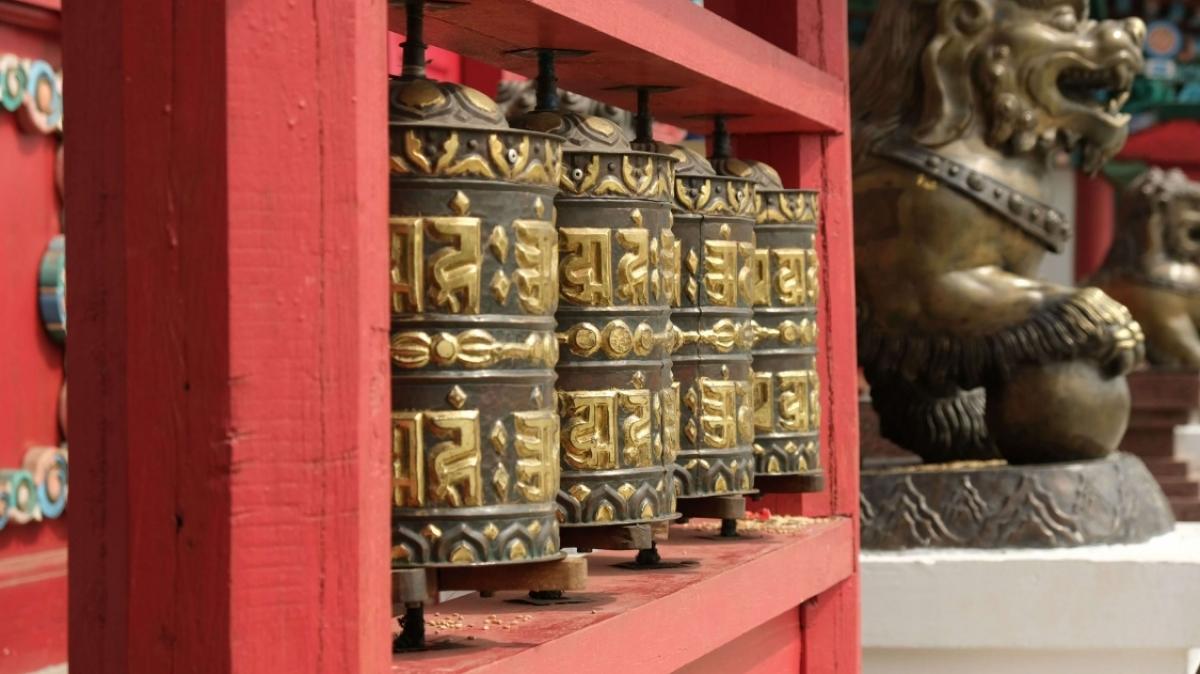 Иволгинский дацан. Фото нашего туриста Евгения Пелевина