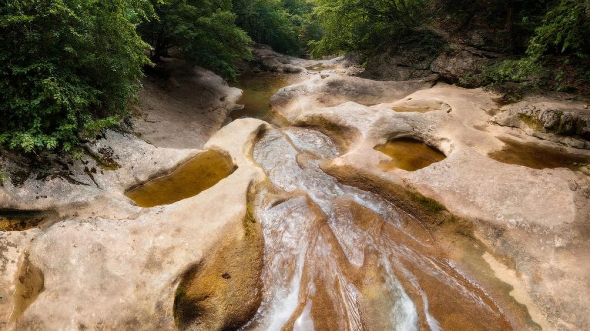 Русло реки Аузун-Узень