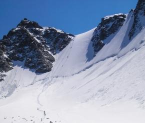 к перевалу