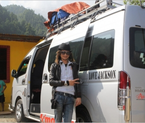 Наш транспорт из Катманду в Покхару и далее в Канде