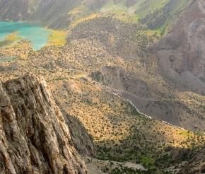 Вид на Куликалонские озера с Рузирават