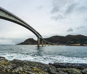 Мост, ведущий на остров Рунне