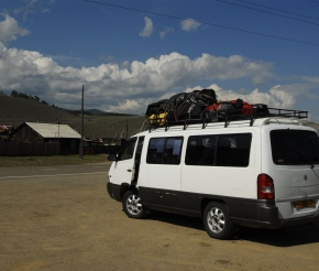 Наш транспорт до Ольхона