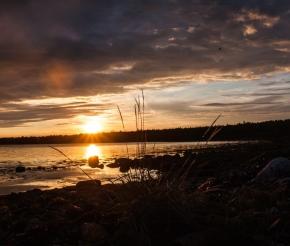 Вечерний берег