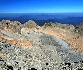Ледник горы Фишт
