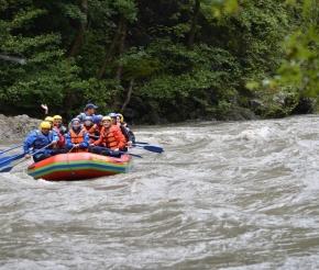 Рафтинг по реке Белая