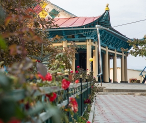 Дунганская мечеть. Фото: Анатолий Жидков