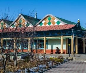 Дунганская мечеть, фото Жидков А.